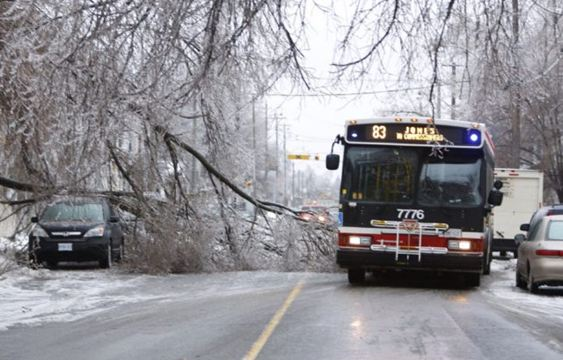 an overview of the damage caused by ice storms in canada The ice storm of 1998 was one of the like other major ice storms that have affected the and the storm's damage was so extensive that many estimated it.