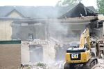 Former school demolition