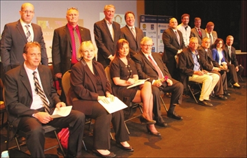 City councillor candidates share their views at chamber debate– Image 1