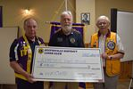 Stittsville Lions donate $1,000 to Kemptville Lions to support its vision care program