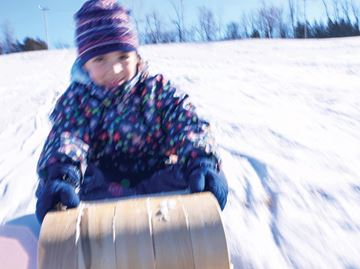 TOBOGGAN HILL ALLOWED