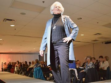 Models strut their stuff for Askennonia Senior Centre