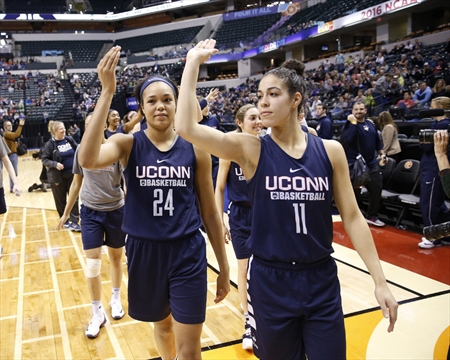 Hamilton's Kia Nurse and UConn try to make history tonight ...