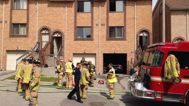 No One Hurt In Pickering Townhouse Fire Durhamregion Com
