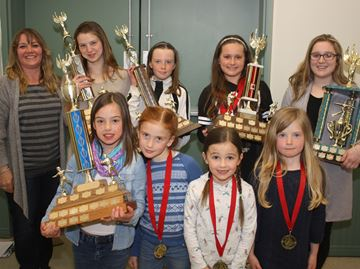 Beaver Valley Skating Club marks end of season with awards
