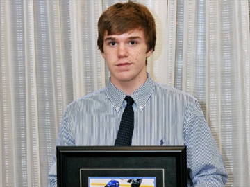 Connor GTHL player of the year