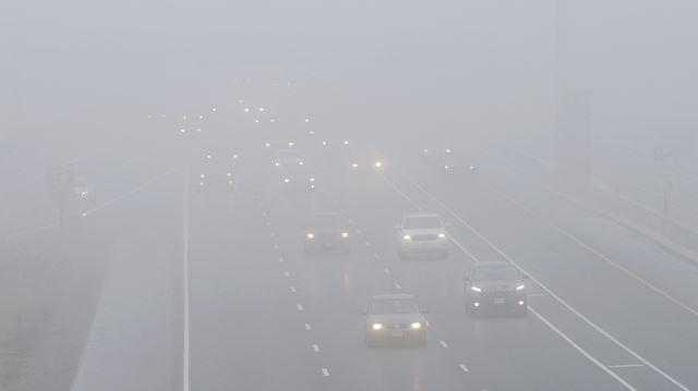 Dense fog blankets Halton