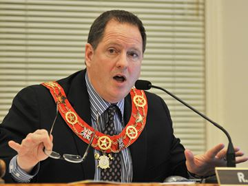 Orangeville Mayor Rob Adams