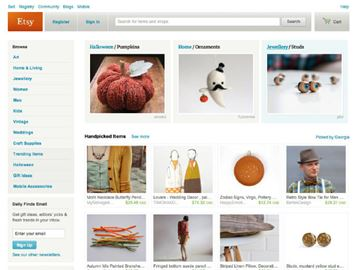 Crafts website Etsy files for IPO, with $100 million goal