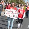 Angus students walk for Terry Fox