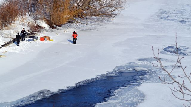 OPP dive team searching river