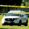 Police tape at scene