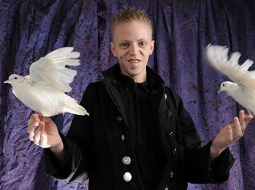 Magician Ryan Brown