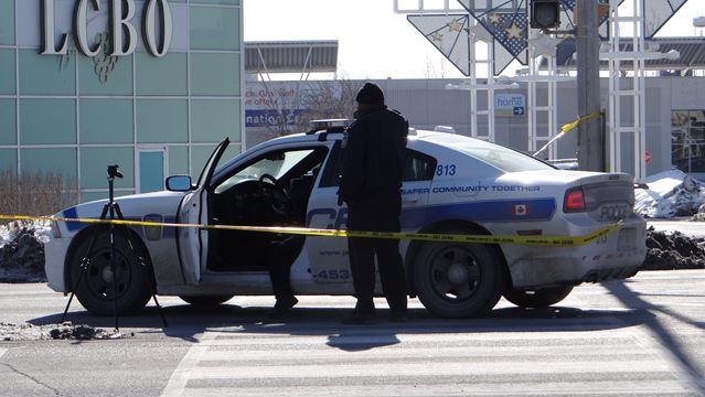 Pedestrians struck in Brampton and Mississauga