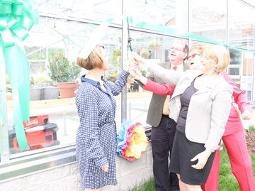 Stayner high school officially opens greenhouse
