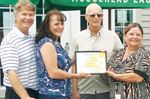 Cancer society shows appreciation to Brooklea owners