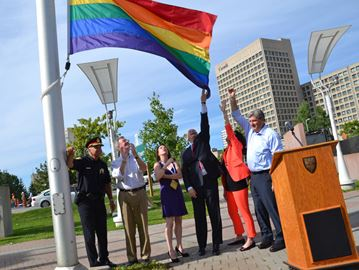 Ottawa raises flag to mark pride week