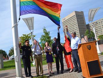 Ottawa raises flag to mark pride week