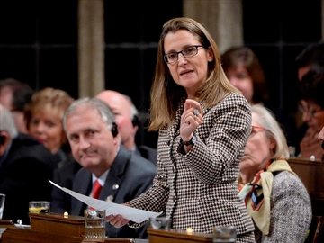 Ritz, Freeland trade blows again in Commons-Image1