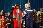Fields Medal winner, Hamilton-born, Manjul Bhargava being awarded an honorary degree by the University of Toronto