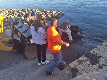 Salt Dock Clean Up