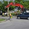 Police call for patience during Lakeshore Road construction
