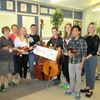 Goldenaires donate to MCS music program