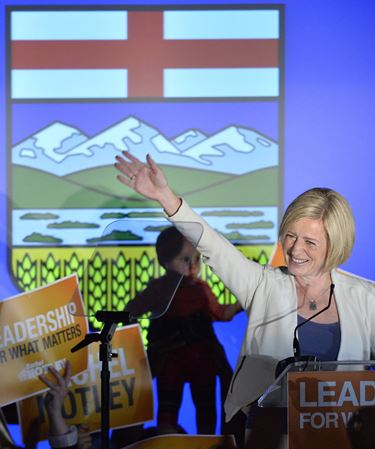 NDP wins Alberta