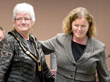 Uxbridge mayor Gerri Lynn O'Connor