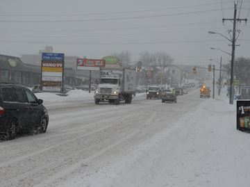 South Simcoe Police ask drivers to plan ahead in snowy weather