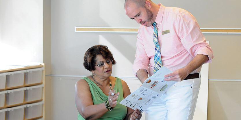 Durham Teachers Principals Try Out Fun Furniture Aimed At