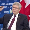 Harper: No budget surplus this year despite drop in 2013-14 deficit