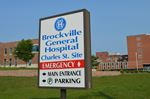 Brockville General Hospital sign