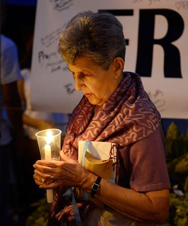 Vigil for Neil Bantleman