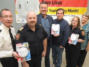 Hamilton Township smoke and carbon monoxide alarms