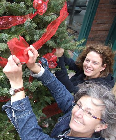 Parade lights up downtown Orillia on Friday