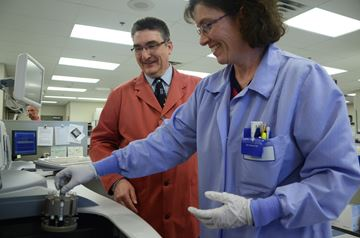New technology coming to hospital lab