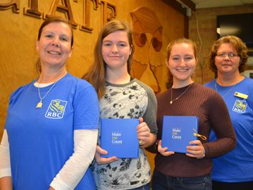 Collingwood students receive cash from RBC for community programs