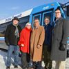 City rolls out new bus as council tackles transit troubles