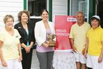 Team Hebner cruises to mixed triples win at Midland and District Lawn Bowling Club