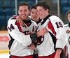 PHOTOS: Warriors win HWIAC hockey crown