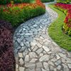 Beautiful patios and walkways add special allure to landscaped yards