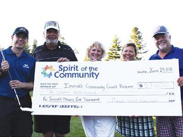 Innisfil Mayor's golf tourney raises $57,000
