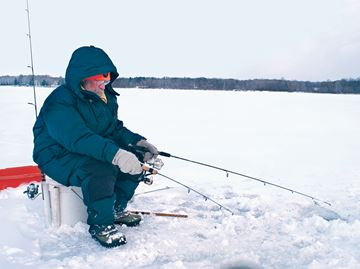 Ice fishing championship leaves Georgina