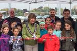 Collingwood officially opens new baseball diamond at Heritage Park