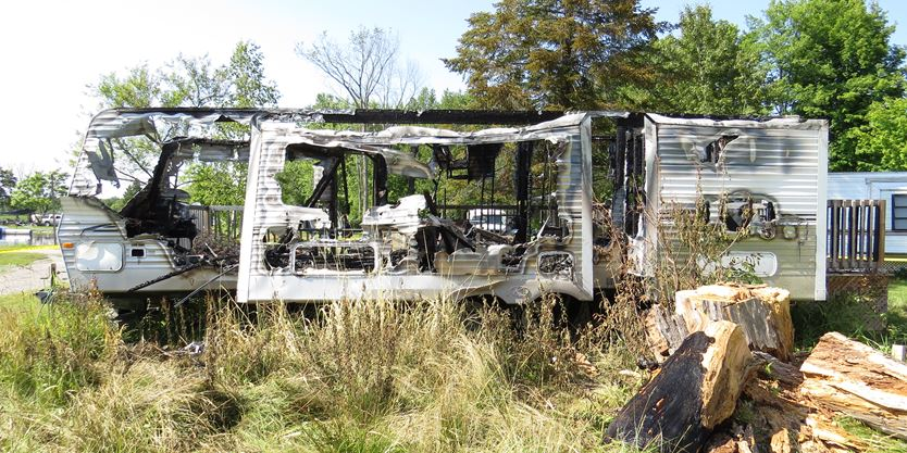 Jail time suggested for convicted trailer arsonist