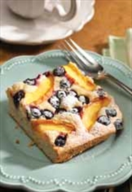 Nectarine blueberry slice tasty way to start day– Image 1