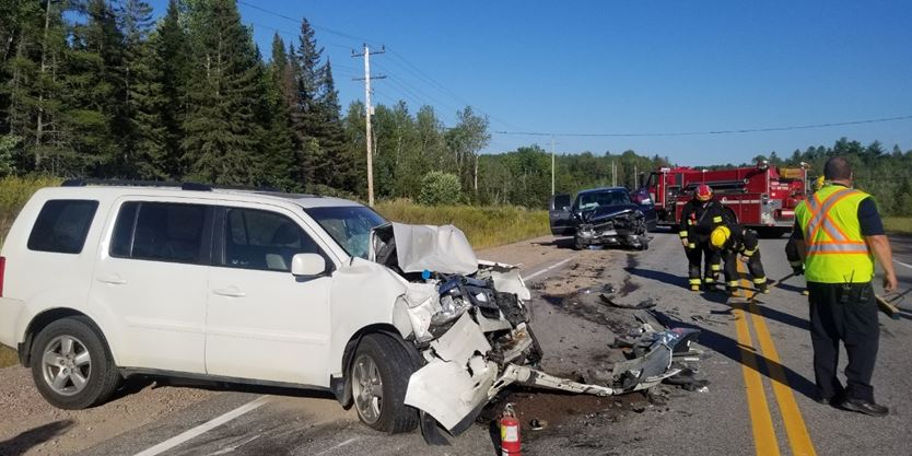 UPDATE: Bonfield teen charged in Aug. 19 3-vehicle collision on Hwy 17