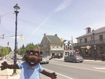 Mascot Bucky the Beaver will be on hand for photos at Oh Canada Ribfest.