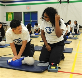 Every public and Catholic school in Peel Region now as an Automated External Defibrillator (AED) onsite.